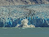 Travel Trip Photo: Southeast Alaska: Dawes Glacier calving in upper Endicott Arm-Holkham Bay