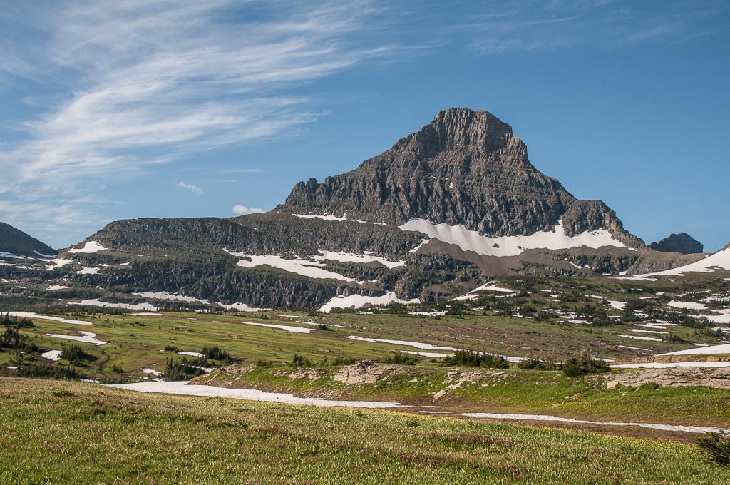 Travel Trip Photo: Reynolds Mountain (9,124') from Logan Pass, Glacier National Park, Montana