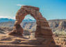 Travel Trip Photo: Delicate Arch in early morning, Arches National Monument