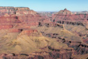Grand Canyon Hike Photo: Wotan's Throne and Vishnu Temple  from Shoshone Point,  Grand Canyon National Park