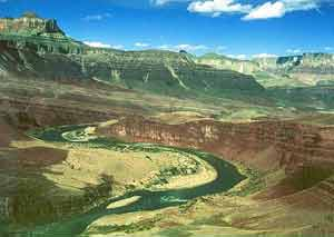 Grand Canyon Hike Photo: The Unkar Delta and Colorado River from Escalante