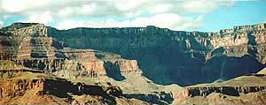 Grand Canyon Hike Photo: North Rim from the upper Escalante Route trail