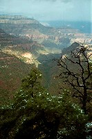 Grand Canyon Hike Photo: Grapevine Canyon from upper Grandview trail