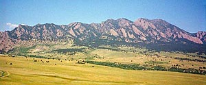 Boulder Grand Traverse Hike Photo: The Boulder Flatirons - southern end