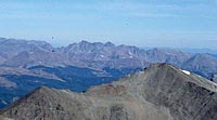 Colorado 14ers Climb Photo: Closeup of the Gore Range