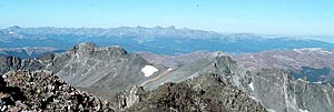 Colorado 14ers Climb Photo: Panorama west