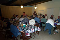 New Mexico Rv Trip: Trailmanor group potluck supper at Albuquerque Central KOA
