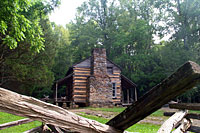 RV trip photo: Great Smoky Mountains National Park - John Oliver Cabin, Cades Cove