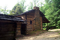 RV trip photo: Great Smoky Mountains National Park - Elijah Olover homestead, Cades Cove
