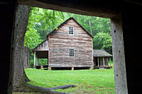 RV trip photo: Great Smoky Mountains National Park - Colonel Hamp Tipton place, Cades Cove